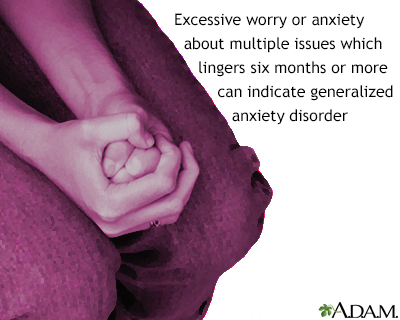 Dating someone with generalized anxiety disorder